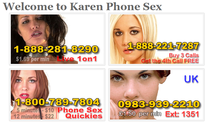 I want great and cheap phone sex